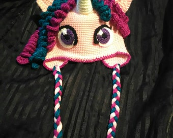 Unicorn Earflap Beanie
