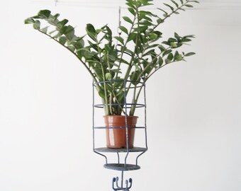 Basket - hanging basket - iron industrial style