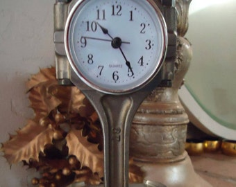 Subaru Piston And Rod Clock /Hot Rod /Steampunk Decor/ Automotive Furniture/  Piston