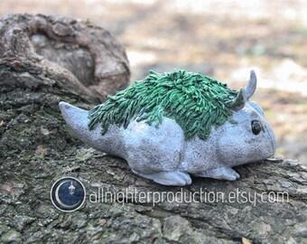 Spanish Mossling OOAK Resin Designer Toy