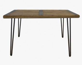 Reclaimed Wood Coffee Table, Industrial Coffee Table, Reclaimed wood, Vintage Table, Rustic Coffee Table, Industrial Table, Barn board