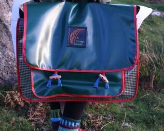Upcycled sail Messenger bag