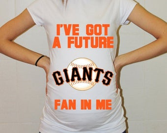 San Francisco Giants Baby San Francisco Giants Shirt Women Maternity Shirt Funny Baseball Pregnancy Pregnancy Shirts Pregnancy Clothing