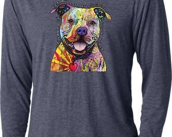 Men's Beware of Pit Bulls They Will Steal Your Heart Lightweight Hoodie Tee T-Shirt 20149NBT2-NL6021