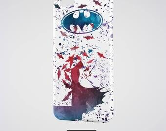 Batman iPhone Case, Dark Knight iPhone 7 Plus Case Colorful Batman iPhone 6S Case Bruce Wayne iPhone 6 Plus Cover Superhero iPhone SE Case