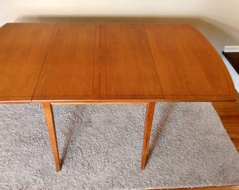 Mid Century Huntley Drop Leaf Dining Table