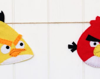 Angry Birds Bunting