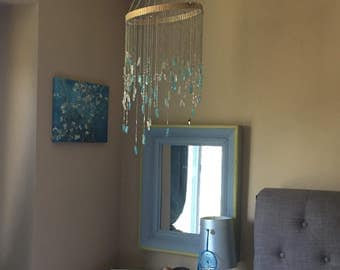 Crystal Boho Chandelier -Made to Order