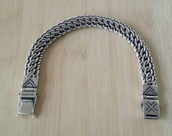 Handmade Sterling Silver Kaiser Bracelet
