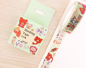 Cute washi tape - rilakkuma | Cute Stationery