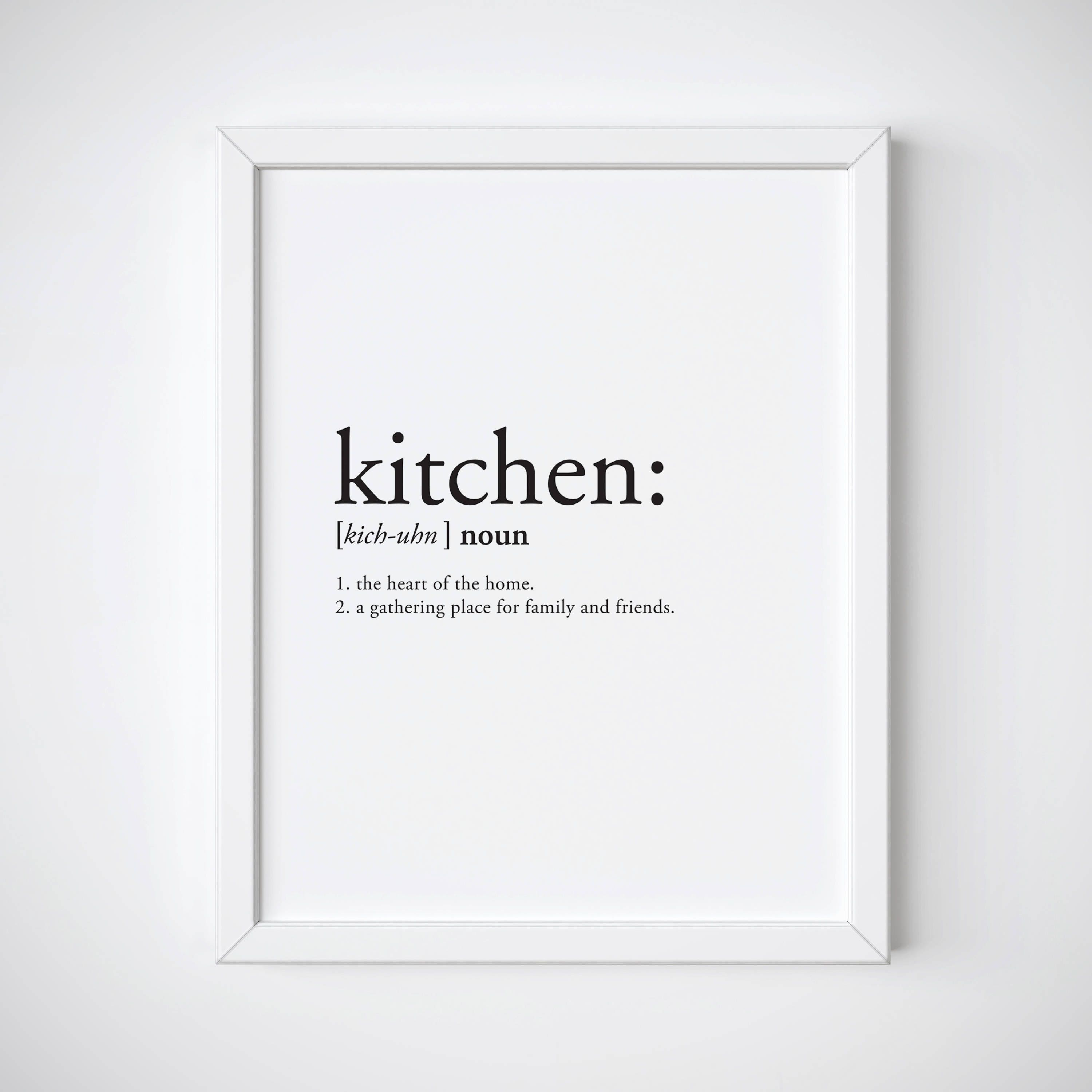Definition print definition poster kitchen decor kitchen for Decor definition