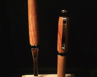 Olivewood Pen with Letter Opener Set