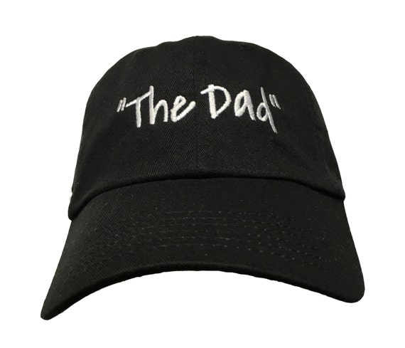 The Dad (Polo Style Ball Black with White Stitching)