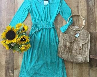 70's Terry Cloth Dress
