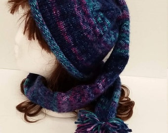 Unique Harf (hat/scarf)
