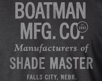 Advertising Shirt, Typography Shirt, Farm Shirt, Tractor Shirt, Advertising Sign, Typography, Typography Print, Farm Sign, Tractor, Boatman