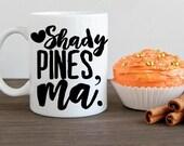 Golden Girls, Shady Pines, Ma Coffee Mug