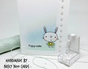 Handmade Easter Card - Easter Bunny