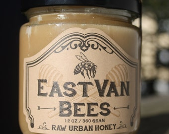 Creamed Local Raw Honey w/Celyon Cinnamon