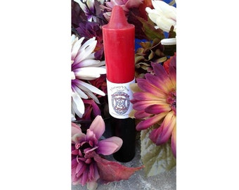 Red and Black Double Action Pillar Reversing Ritual Supply