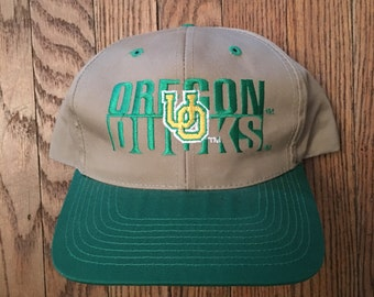 Vintage Oregon Ducks NCAA Snapback Hat Baseball Cap