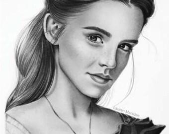 Belle as Emma Watson