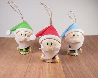 adornos arbol de navidad pack x adornos de papa noel decoracin navidea