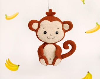 Birthday Decorations Baby Monkey Party Decorations Personalised Gift Baby Shower Favours Safari Animals Baby Nursery Decor Jungle Party