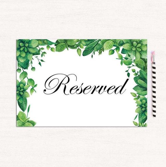 Muestra reservado de verano boda Woodland tabla tarjeta