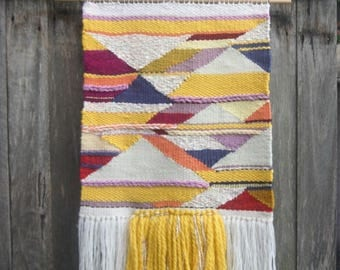 Woven Wall Hanging Harlequin Delight