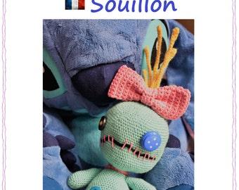 Scrump Amigurumi Doll Pattern Lilo & Stitch