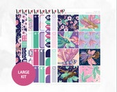 Fairy Life Large Kit - Matte or Glossy Erin Condren Planner Stickers -