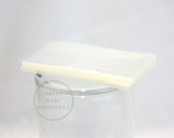 100 2x4 Cello Bags, Flat Cello Bags, 1.2 Mil Standard, Clear Cello Bags, Candy Bags, Food Packaging, Food Safe Bags, Polypropylene Bags