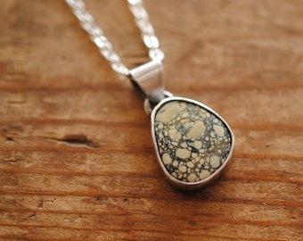New Lander Turquoise Pendant | Sterling Silver