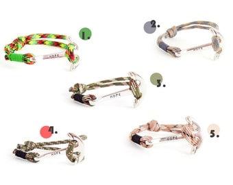 Mens Inspirational Jewelry, Mens Inspirational Wrap Bracelet, Inspirational Quote Bracelet