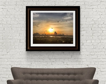 Sunset Photography - Landscape Photography - Dubai Photograph - Original Fine Art - Digital Download - Dubai