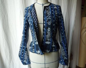 Blue Indian jacket-S
