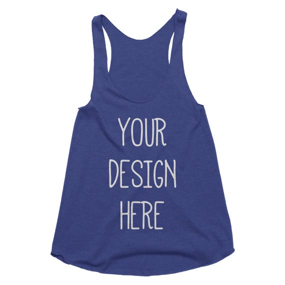 Custom workout tank custom screen printing race shirts for Make your own screen print shirt