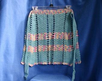 Beautiful Vintage Crocheted Apron