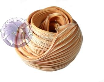 30 cm Silk Shibori Ribbon Handmade #