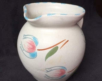 Vintage English Pottery Pitcher