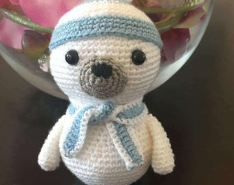 Crochet Harp Seal