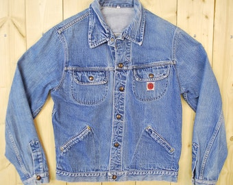 Vintage 1960's GWG KINGS Denim Jean Jacket / Retro Collectable Rare