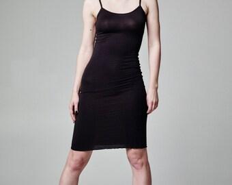BDSM Slip Dress, Plus Size Lingerie Dress, Lingerie Slip Dress, Sexy Dress, Fetish Dress, Black Dress, Black Short Dress, Black Tank Dress