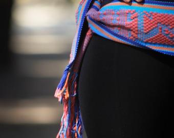 Mexican Hand Woven Belt