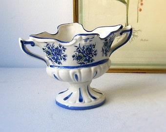 Vase en porcelaine ancien, Capodimonte ITALIE, vintage, art et collection