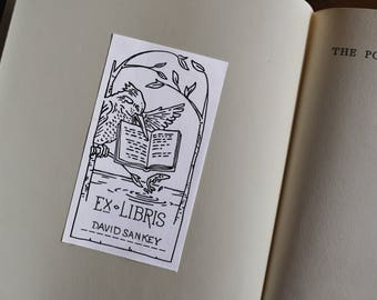 Kingfisher Book Plates / Ex Libris (Pack of 6)