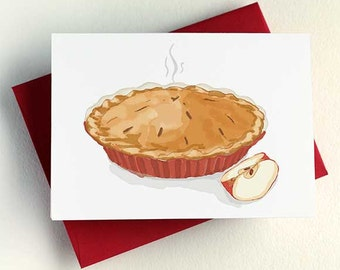 Apple Pie Card