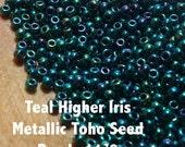 Teal Higher Iris Metallic...