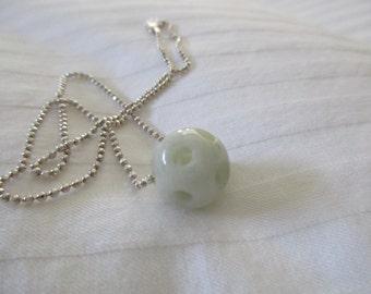 Beautiful Jade Pickleball Pendant (Pbj)
